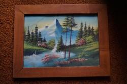 Festmény - keretezett