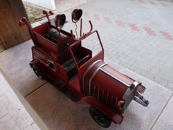 Régi nagy tűzoltó auto, 35 x 25 cm