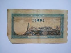 Románia 5000  Lei 1943 !!