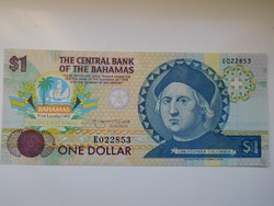 Bahama szigetek 1 dollár 1992 UNC  Nagyon Ritka!