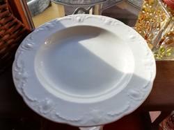 Német fehér mitterteich  mély tányér 7 db