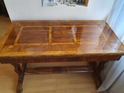 Biedermeier kártyaasztal