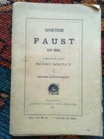 Goethe : Faust  debreceni kiadása 1894-ből