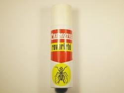 Retro CHEMOTOX rovarirtó spray flakon - Caola gyártó - 1980-as évekből