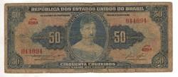 50 cruzeiros 1956-59 Brazilia 7. signo