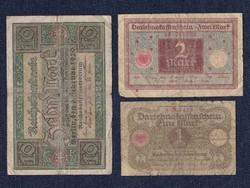 3 db német márka / id 5558/