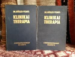 Klinikai terápia 1940 Teljes 2 kötet.