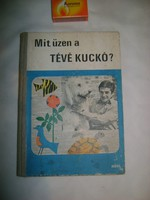 Mit üzen a TÉVÉ KUCKÓ - 1971 - retro könyv