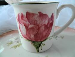 Villeroy&Boch Flora rózsás bögre, csésze
