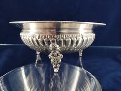 Csodás antik ezüst kínáló 1900-as évek eleje