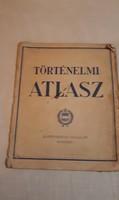 RÉGI TÖRTÉNELMI ATLASZ 1963-AS KIADÁS