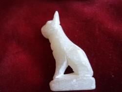 Zsírkőből készült kis szobor 5 cm