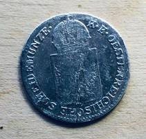 6 Krajcár 1849 A ezüst