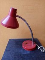 Retro asztali lámpa - piros -