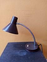 Retro asztali lámpa - barna -