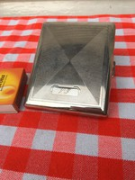 Régi díszes cigaretta tartó dózni - díszes dohány kínáló doboz