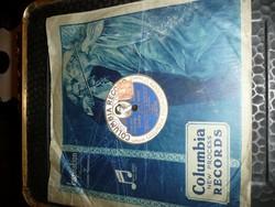 Gramofon lemez  Columbia Record Mikor én majd .. - Temetés volt a .. Karcmentes!Újszerű!