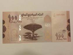 Jemen 100 Rials UNC 2019