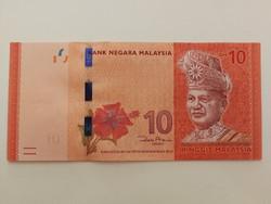 Malajzia 10 Ringit UNC 2018