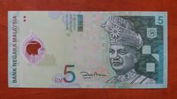 Malajzia 5 Ringit UNC 2004