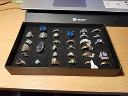 31 darab bizsu Gyűrű!