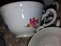 Zsolnay barokk kávés szettek