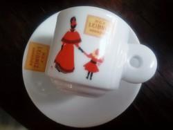 Vastag porcelán mokkás csésze