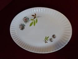 R Bavaria német porcelán ovális húsos tál, mérete 35 x 24,5 x ,5 cm.