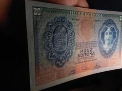 20 Korona 1907 aUNC - EF++ Ritka Gyűjteményi minőség!!
