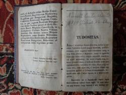 Magyar nyelvű református egyházi énekeskönyv, számtalan kottával!