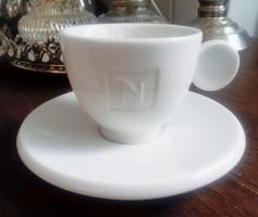 Vastag porcelán mokkás csésze Nespresso