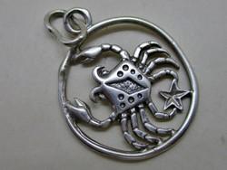 Szép rák horoszkóp ezüstmedál