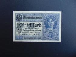 5 márka 1917 Németország  03