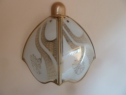 Fali-lampa-18-karatos-arannyal-futttatot  2 db
