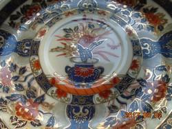 IMARI Litofán gésával aranykontúrozott tojáshéj teás csésze alátéttel-(5)