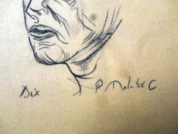 MOLNÁR C. PÁL Otto Dix-el