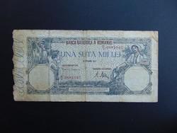 100000 lei 1946 Románia