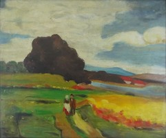 0Y628 Magyar festő XX. század : Hazafelé