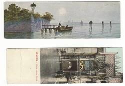 Velence Venezia képeslap levelezőlap keskeny olasz 1900 körül antik
