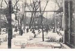BP. Városliget Gundel vendéglő ,  volt Vampetics . 1912