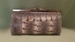 Eredeti kígyóbőr pénztárca, táska