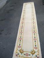 Szőnyeg, keleti gyapjú , 330 x70 cm