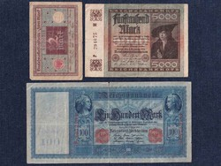 3 db német márka / id 5930/