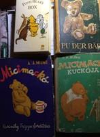 Micimackó könyvek