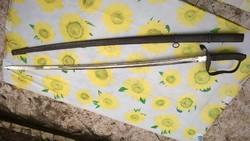 1861M  Horthy  gyalogostiszti szablya -kard tokkal, eredeti állapot