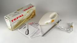 0Z179 Tefal elektromos kenyérszelő kés dobozában
