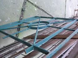 Ritka  Art Deco Kovácsoltvas Loft acél Bp budai villa ablakrács vas biztonsági rács