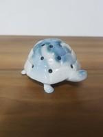 Aquincumi ritka porcelán teknős - retro