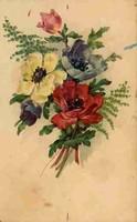 Antik, postatiszta külföldi képeslap, XV.