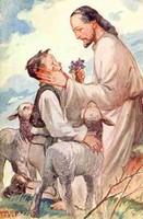 Márton Lajos vallásos tárgyú képeslapja az 1940-es évekből